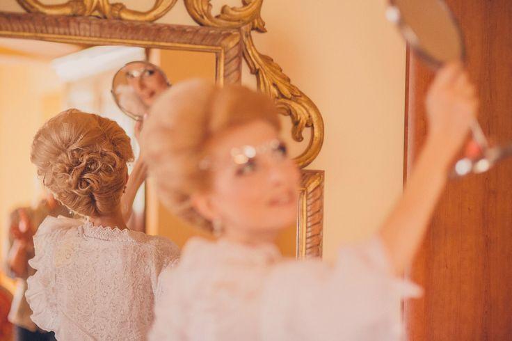 Romantic Victorian Wedding  Bride Hairstyle Photo Credits: Vlad Gherman Photography