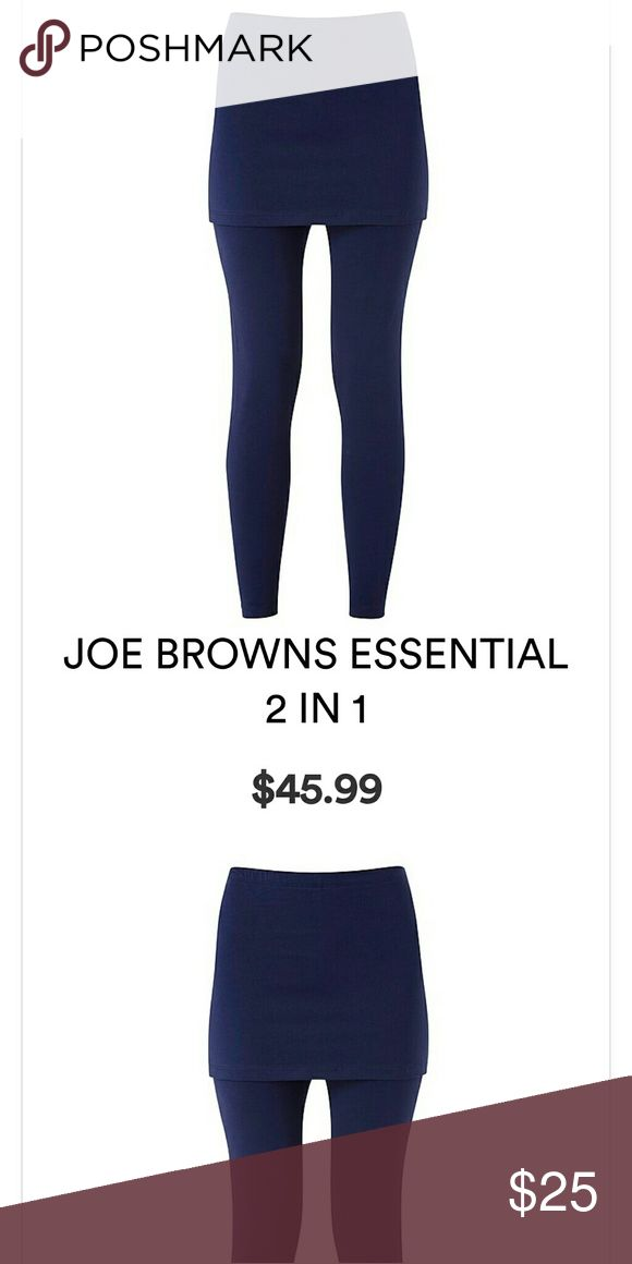Joe Browns legging and skirt 2 in 1 Brand new with tags navy blue Pants Leggings