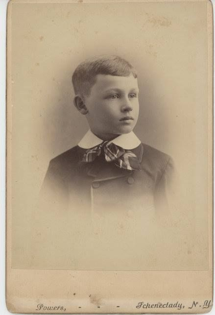 """This is a """"Unknown"""" Cabinet Card Photo. The Photographer is """"A.M. Powers"""",Schenectady, New York, USA"""