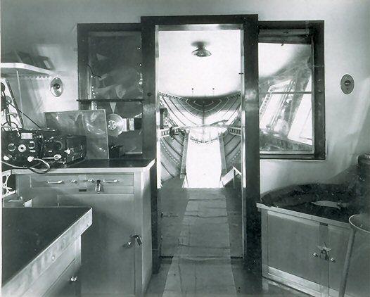 USS Macon Interior Zeppelin Blimp Airship