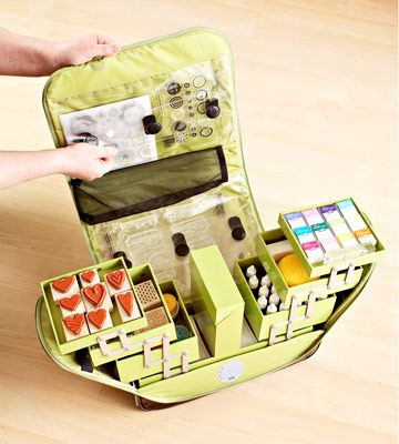 I'd love to store my punches in this tote suitcase.  Does anyone know where it is sold?