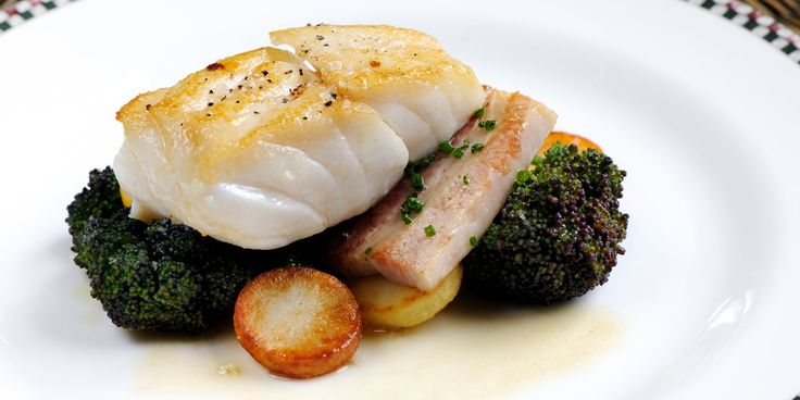 Gourmet cod loin recipe collection from Great British Chefs. Whether you're looking for a Roast cod recipe like that from Galton Blackiston, a simple baked cod from Andy Waters or a more adventurous bouillabaisse.