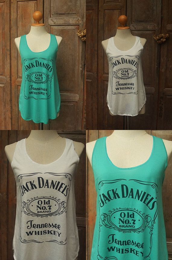 Jack Daniels Tank Top Softness fabric High by BeeSimpleDay