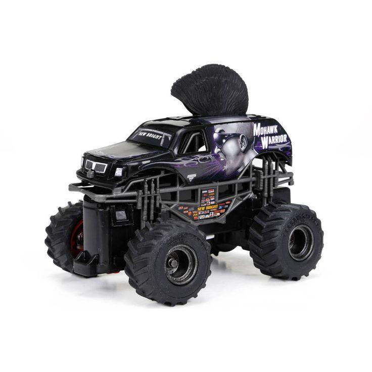 The 1:43 scale full function radio control Monster Jam monster trucks ...