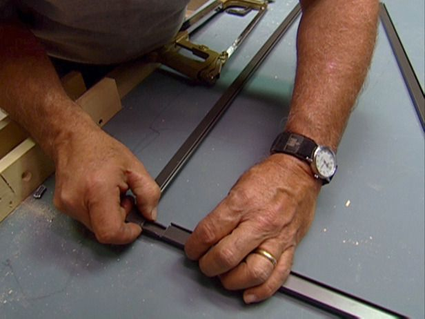 how to build a window screen replacement