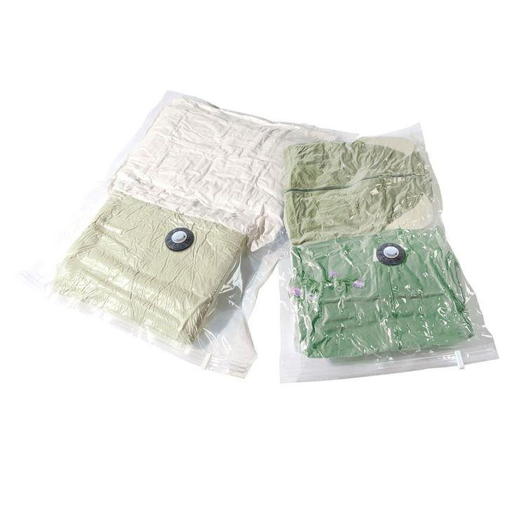 Compactor 2-pack Vacuum Storage Bags, Multicolor