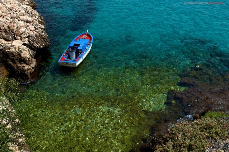 Sicilia Isola di Levanzo Arcipelago delle Isole Egadi Trapani