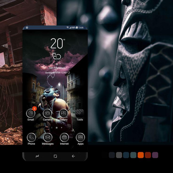 Scary Night In 2021 Galaxy Theme Samsung Galaxy Samsung Products