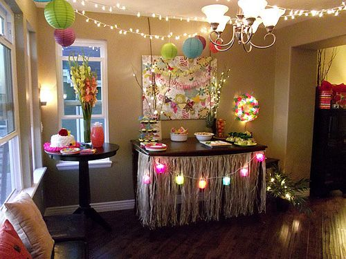 243 best birthday party images on pinterest birthdays ideas party hawaiian bridal shower junglespirit Gallery