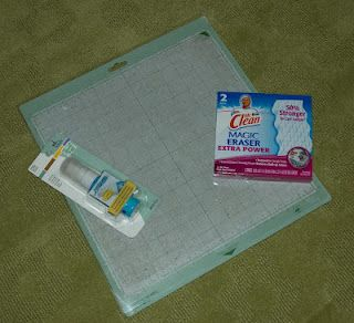 """Another way to """"recondition"""" your Cricut mat!  Love these ideas since these are so expensive."""