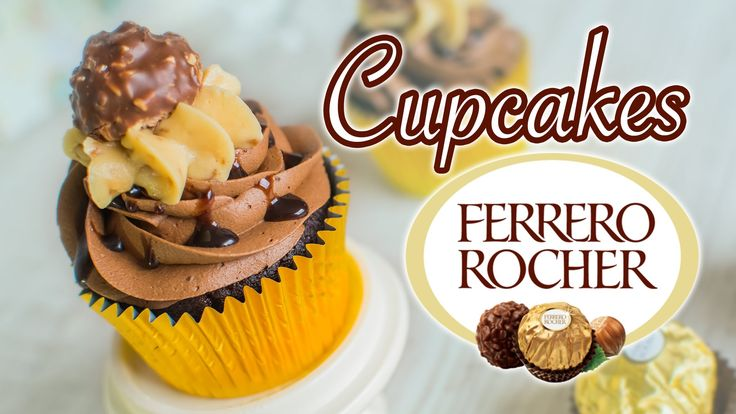Cupcake Ferrero Rocher (chocolate y avellanas) | Quiero Cupcakes!