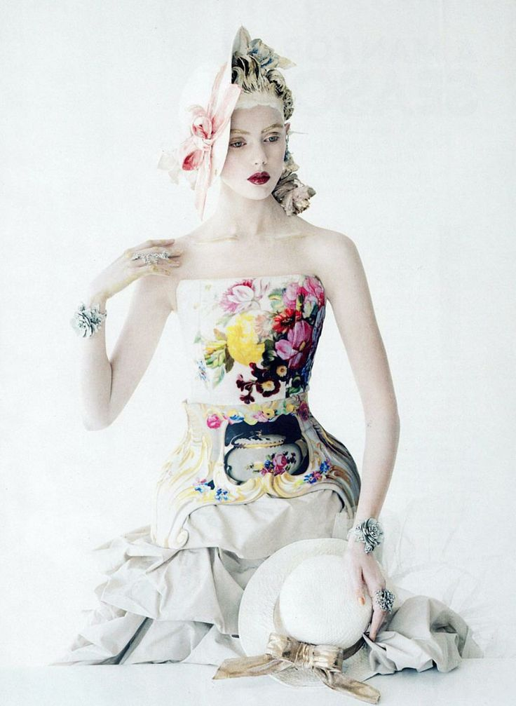Photographer: Tim Walker. Model: Frida Gustavsson.