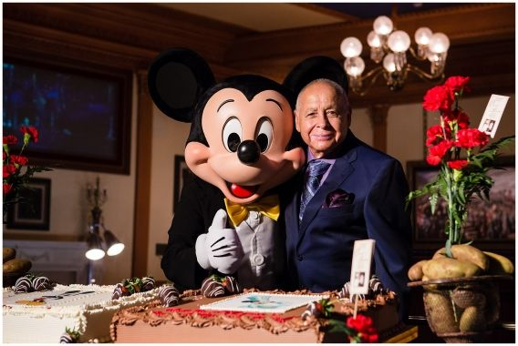 """The Lincoln Theater filled with up with Cast Members who loved him. In one way or another he had touched a person's life or changed it completely. He began working at Disneyland when it was new. He walked on Main Street beside Walt Disney himself. """"I did everything. Anything they asked me to do...…"""