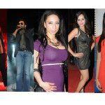 Vishal-Shekhar, Actress Meghna Patel, PlayBoy Girl Shanti Dynamite, Tanuj Virwani, Aditya Seal and Izabelle Leite at Cultural Festival of Rajiv Gandhi College