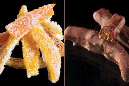 Φλούδες πορτοκαλιού: ζαχαρωμένες και με σοκολάτα - Orange peel with sugar or chocolate @gastronomos.gr