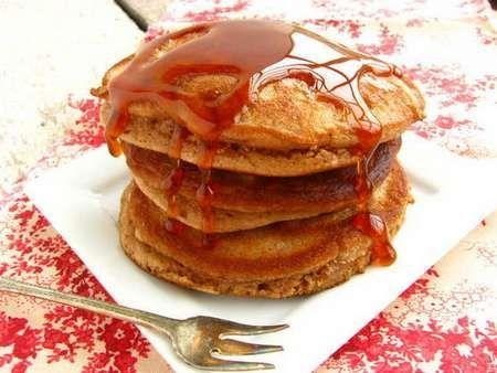 farina di castange pancake