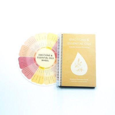 Emotions & Essential Oils Book and Wheel   PURELIFEBALANCE.CA