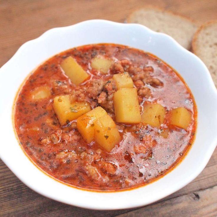 Zobrazit Vepřová gulášová polévka receptů