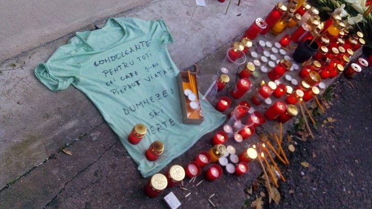 Durere fără margini! Ce a apărut la locul tragediei de la Colectiv - http://www.eromania.org/durere-fara-margini-ce-a-aparut-la-locul-tragediei-de-la-colectiv/
