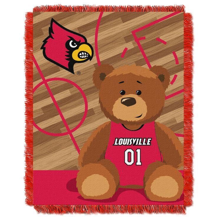 Louisville College Baby 36x46 Triple Woven Jacquard Throw - Fullback Series