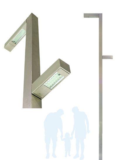 GIRAFA :: SONERES LED BY DREAMS – Iluminação pública a LED :: #iluminacaopublica #lightingdesign