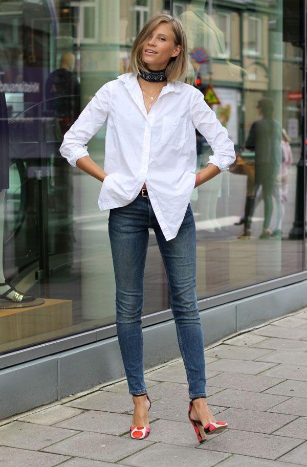 Calça Jeans Camisa Bandana
