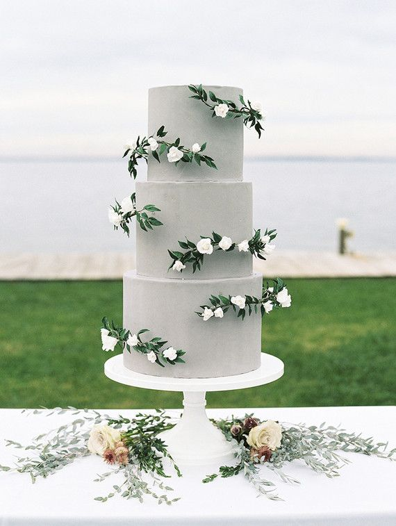 Romantic seaside wedding inspiration