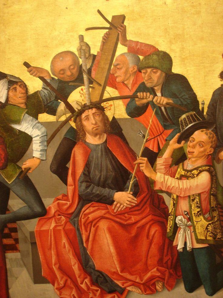 Gaspar Isenmann, The crowning of thorns, 1465.