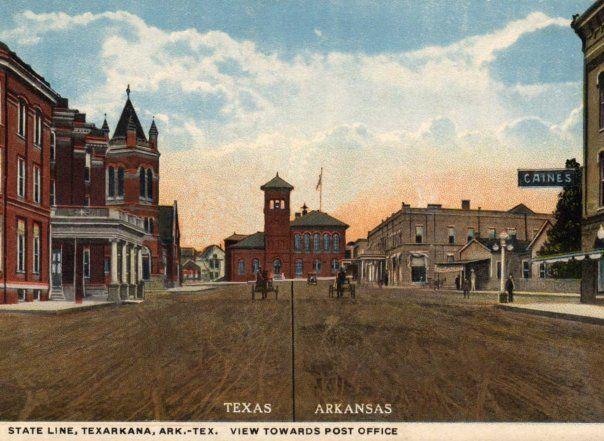 pictures of texarkana texas/arkansas | the post office in texarkana texas arkansas unique in that it ...