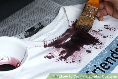 Image titled Create a Zombie Costume Step 6Bullet3