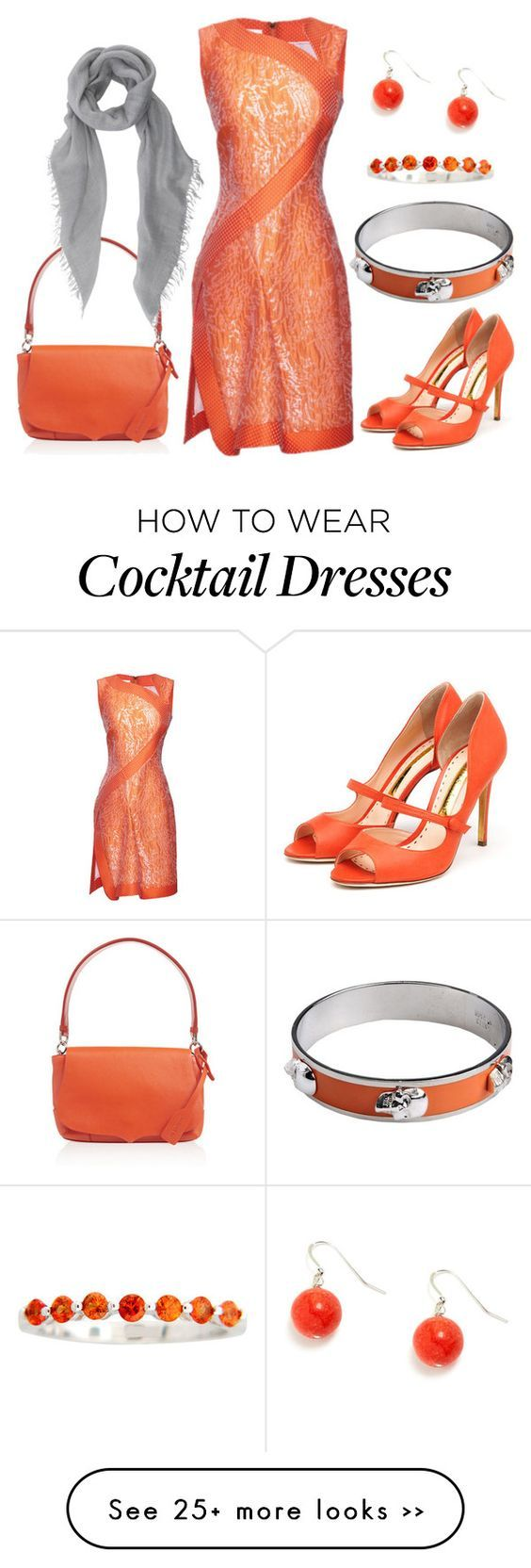 """""""Orange Zest"""" by theapatricia on Polyvore"""