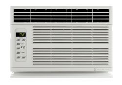 Chill CP05G10B Stylish and sophisticated, our premium line of room air conditioners has great features at a very attractive price. Cool-only and cool+heat models. ENERGY STAR® qualified models.  Comfort & Convenience 24-hour timer lets you program on/off times Auto Air Sweep swing louvers* provide more even air distribution 3 cooling speeds, and fan speeds** Ultra quiet operation 4-way air flow control Auto restart saves settings if power is interrupted ** models with heat have 2 speeds…