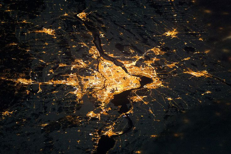 Montreal, Canada | 27 Stellar Photos Of Earth Taken From Space
