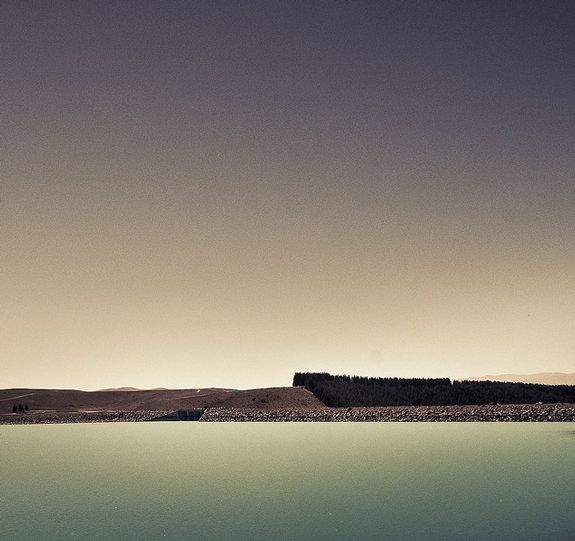 Abstract New Zealand Landscape