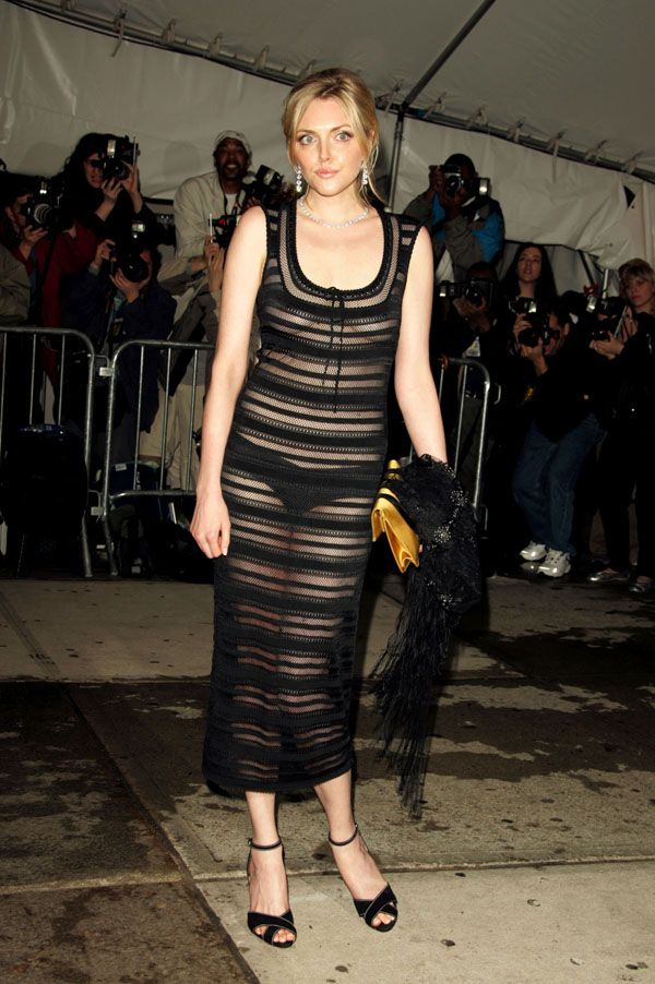 Alaia Azzedine Dresses >> Sophie Dahl In Vintage Alaia From Resurrection - Met Ball 05 | We Wear Resurrection Vintage ...