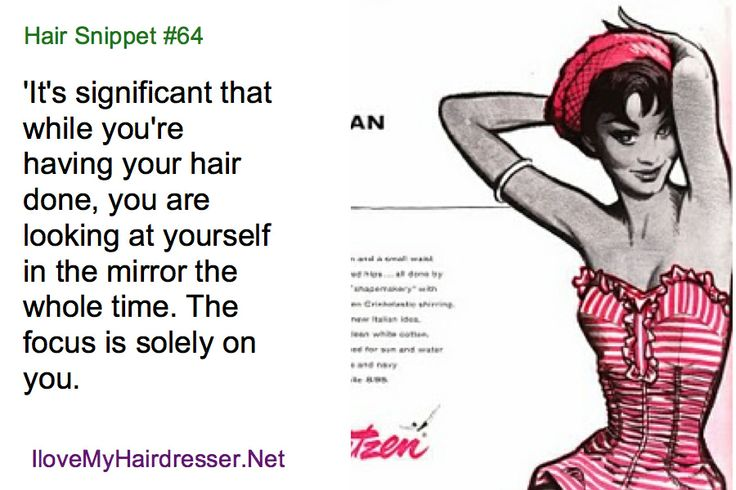 Love your hair - love your hairdresser