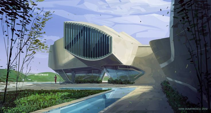 Futuristic Architecture, Xp House Copy by jonone