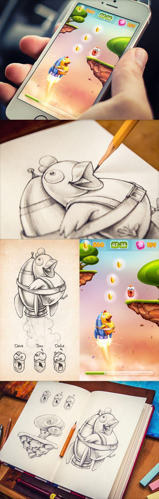 手繪細緻的icon作品欣賞 | ㄇㄞˋ點子靈感創意誌