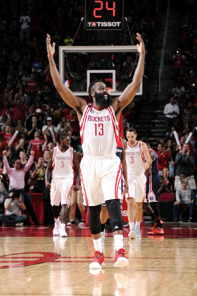 Already one of the biggest stars in the NBA, a switch to PG has pushed Houston Rockets star James Harden to the front of the 2016-17 MVP race.