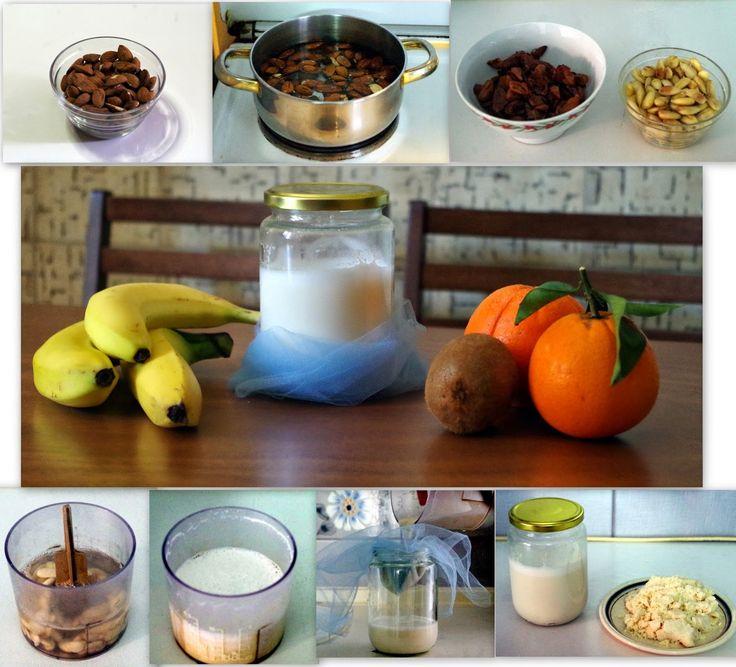 Φτιάξτε Εύκολα Το Δικό Σας Γάλα Αμυγδάλου!  http://championsland.blogspot.com/2014/04/ftiakste-eukola-gala-amugdalou.html