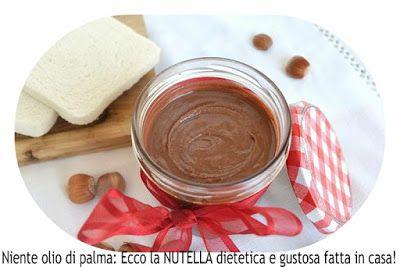 a.c: Niente olio di palma: Ecco la NUTELLA dietetica e ...