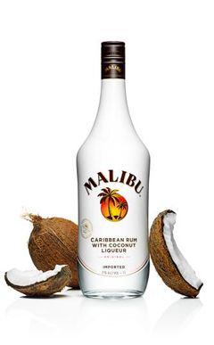 Malibu Rum  ... Recipes @ http://www.maliburumdrinks.com/us/Rum-Drinks-and-Cocktails/