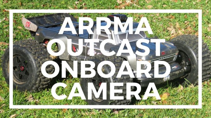Arrma OutCast Stunning Onboard Video - Tactic RC Car Camera