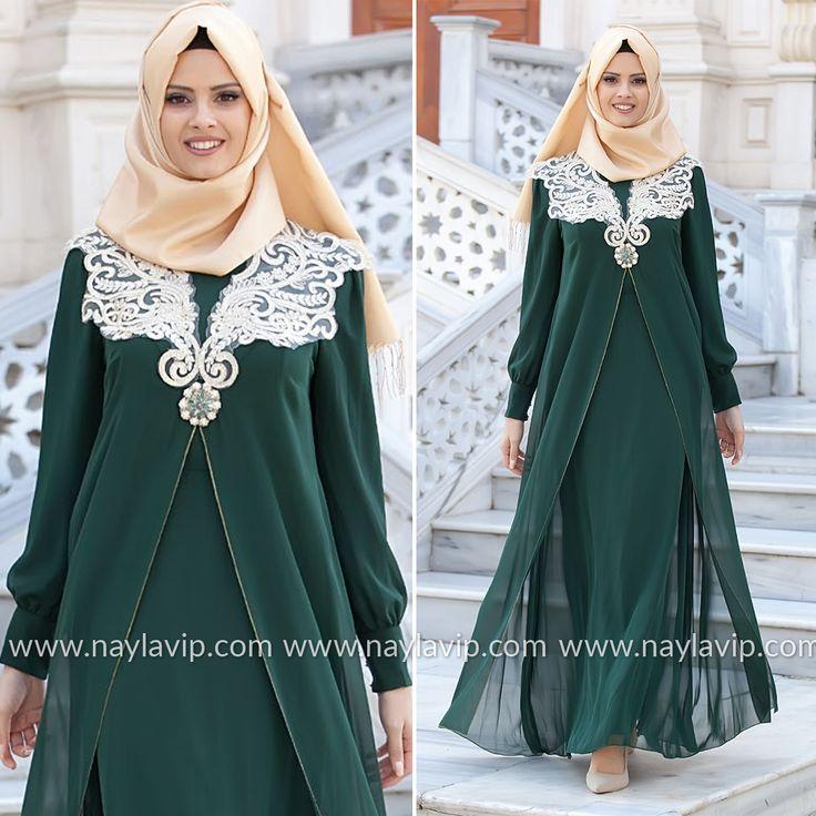 NAYLA COLLECTION - EVENING DRESS - 52485-01Y #hijab #naylavip #hijabi #hijabfashion #hijabstyle #hijabpress #muslimabaya #islamiccoat #scarf #fashion #turkishdress #clothing #eveningdresses #dailydresses #tunic #vest #skirt #hijabtrends
