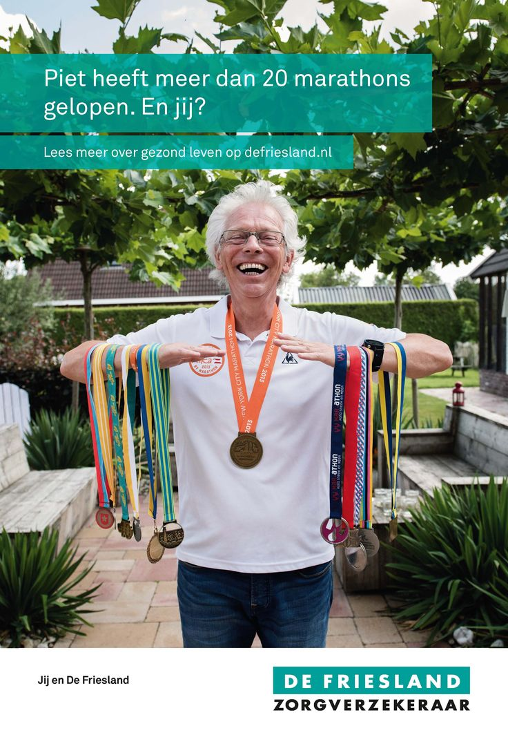 Na diverse beroertes is in 2007 het roer omgegaan. Ik ben gezonder gaan leven en ben inmiddels zo'n 20 kilo lichter. Ik let goed op mijn voeding en beweeg veel, vooral hardlopen. Ik train zo'n 4-5 keer per week. Heerlijk hardlopen door het prachtige coulisselandschap hier bij Kollumerzwaag. Ik heb inmiddels heel wat marathons gelopen. Daarnaast zet ik me in voor diverse goede doelen, zoals KiKa, run4schools en ALS. Dit doe ik uit dankbaarheid, omdat ik het kán doen.