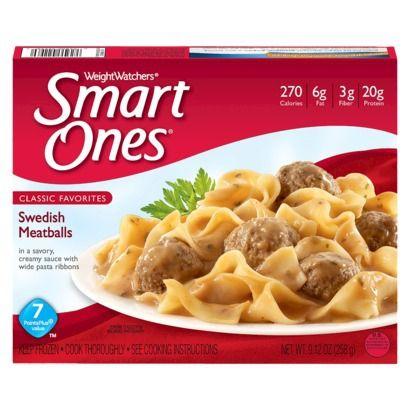 Weight Watchers Smart Ones Swedish Meatballs 9.12-oz.