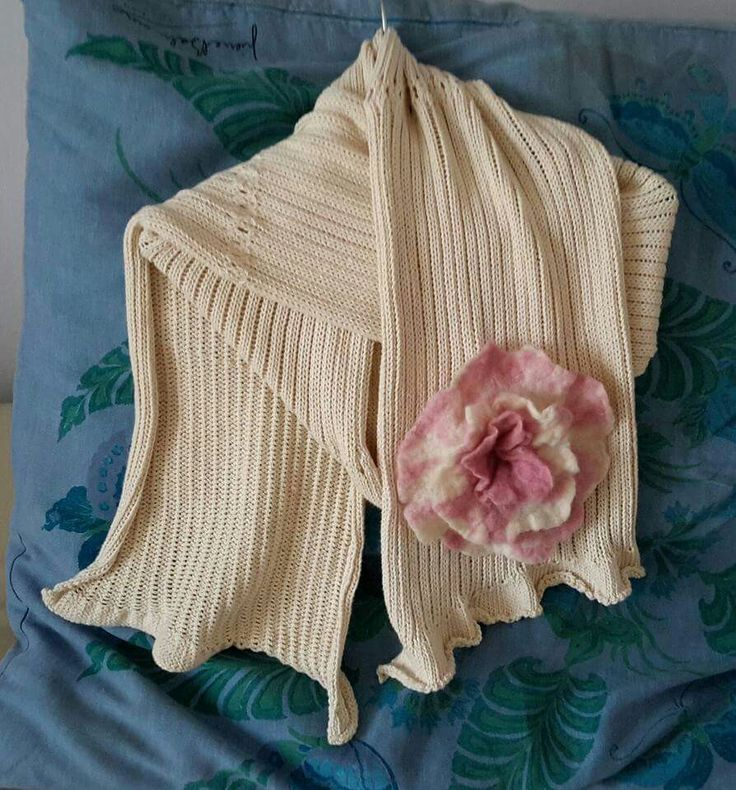 organic cotton - knitting - shawl - facebook/kreaktivarium - www.kreaktivarium.com