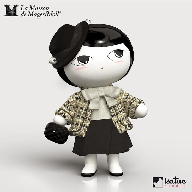 Animación en 3D de Mageritdoll