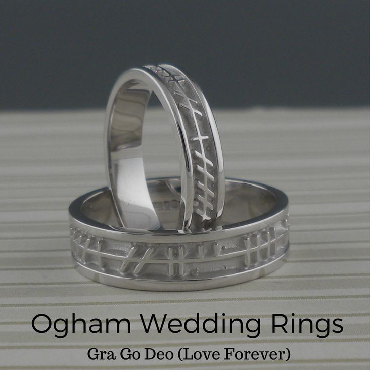 collection wedding script best bands boru and images ogham faith in ireland on handmade lecheile rail by rings irish celticweddings ring with pinterest