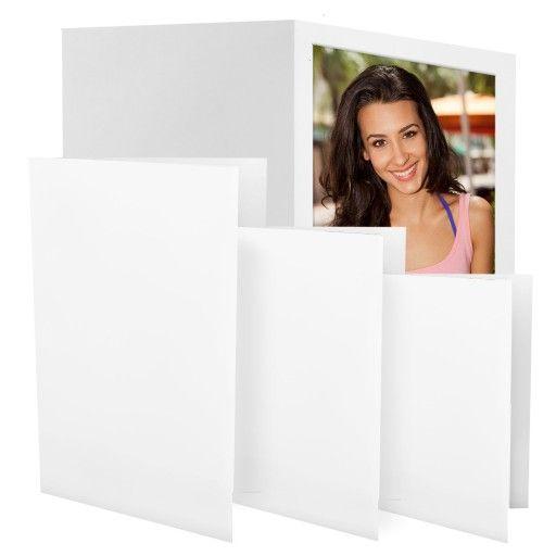4x6 White Photo Folder